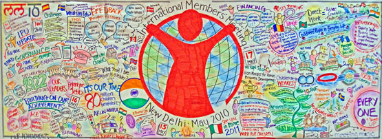 Save The Children charity – Graphic Recording illustration